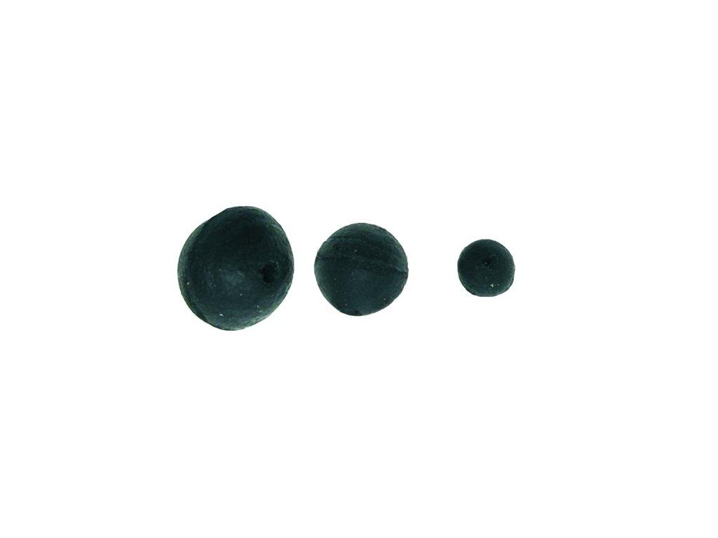 Gumová kulička černá