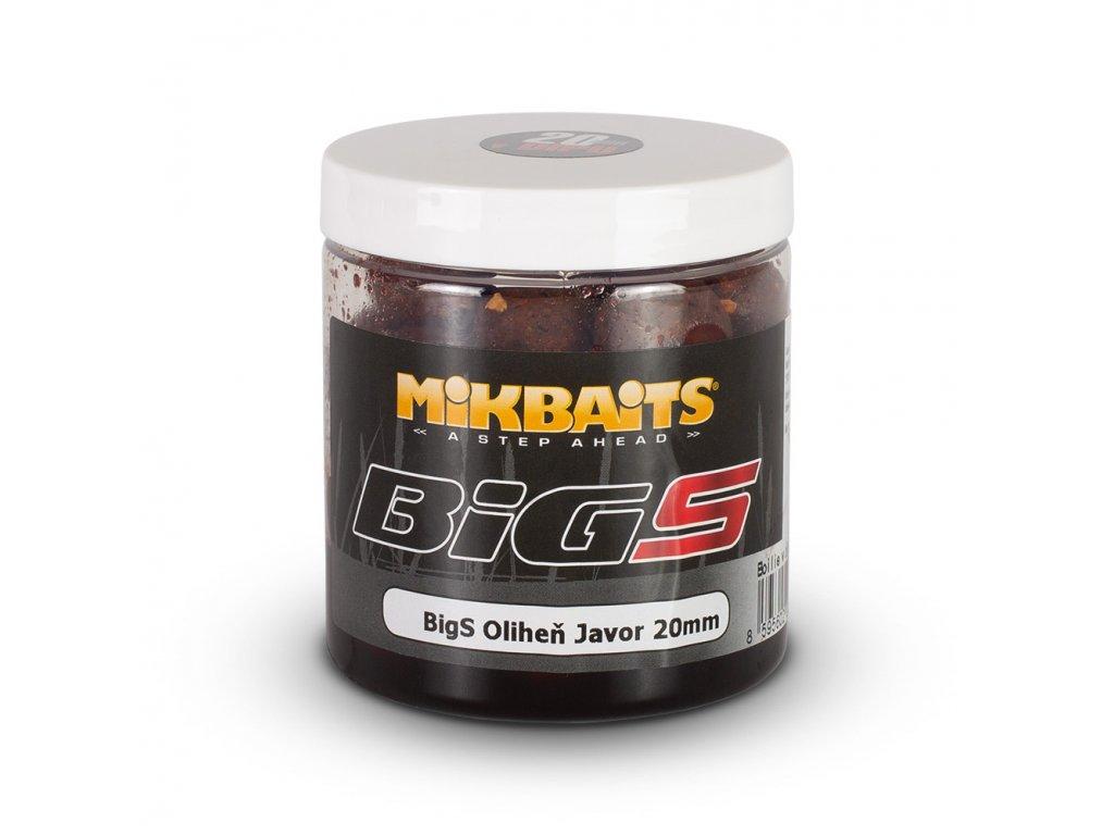 Mikbaits - BiG boilie v dipu 250ml  BigS Oliheň Javor