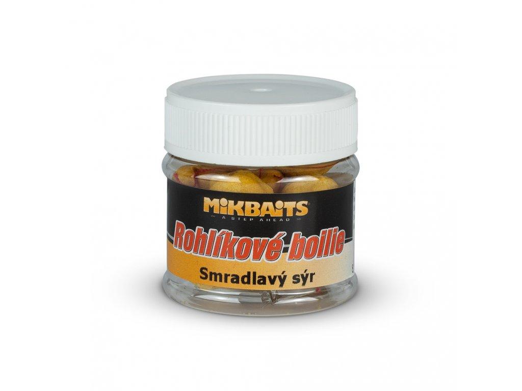 Mikbaits - Rohlíkové boilie 50 ml - všechny druhy