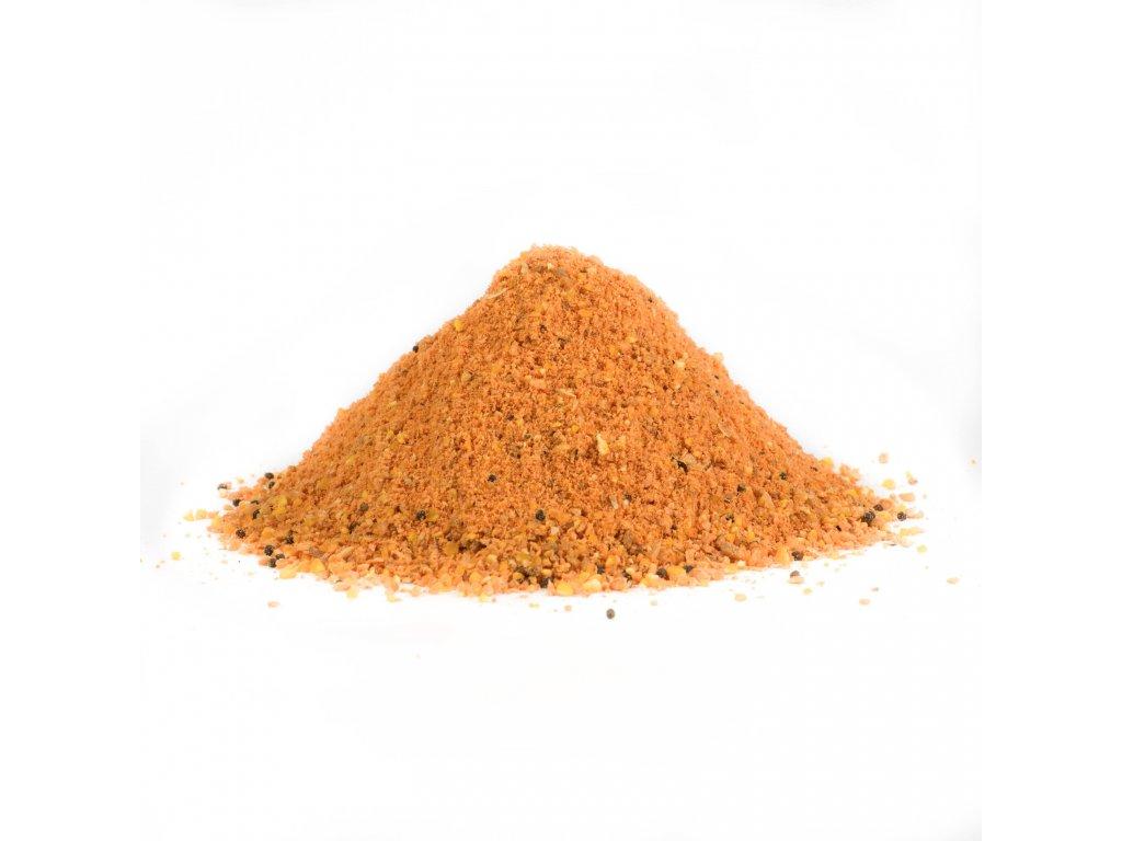 Mikbaits - Carp Feeder mix 1kg Půlnoční pomeranč