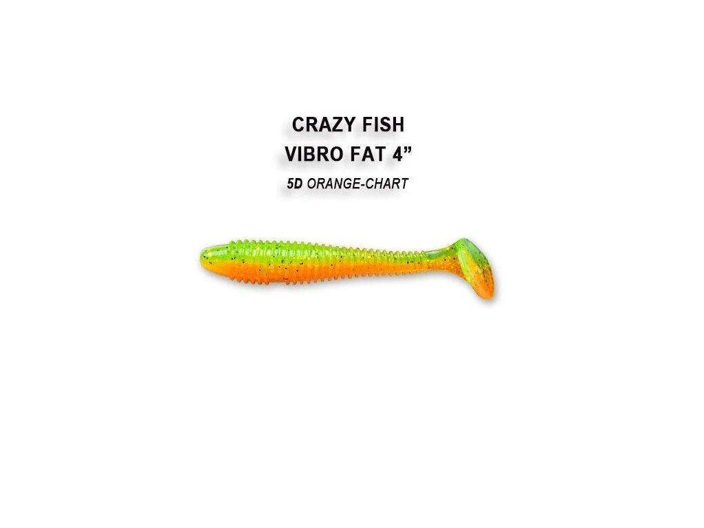 CRAZY FISH - Vibro Fat 10cm  4 kusy v balení