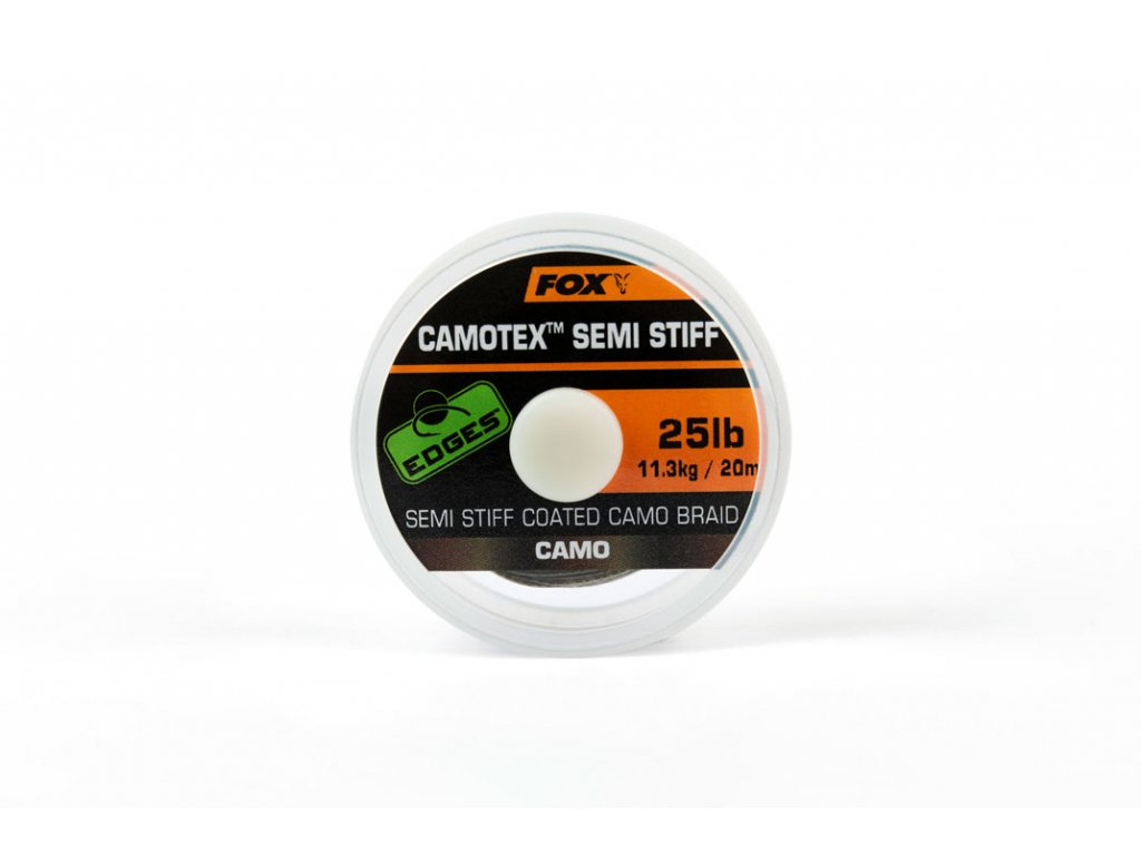 edges camotex semi stiff coated camo braid camo 25lb 20m main