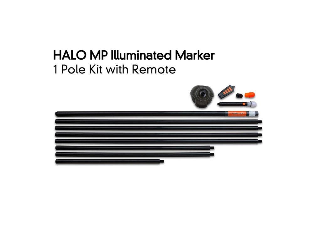 halo mp illuminated marker kit 1 pole with remote