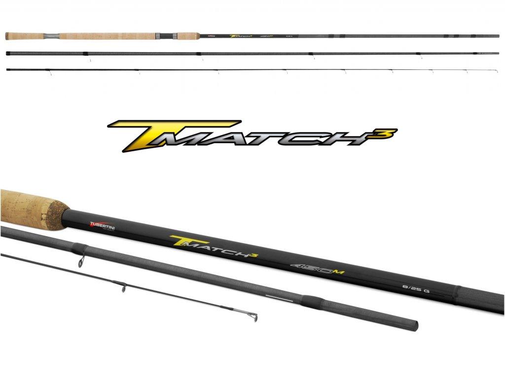 Tubertini - Matchový Prut T-match3 Light 4,2m