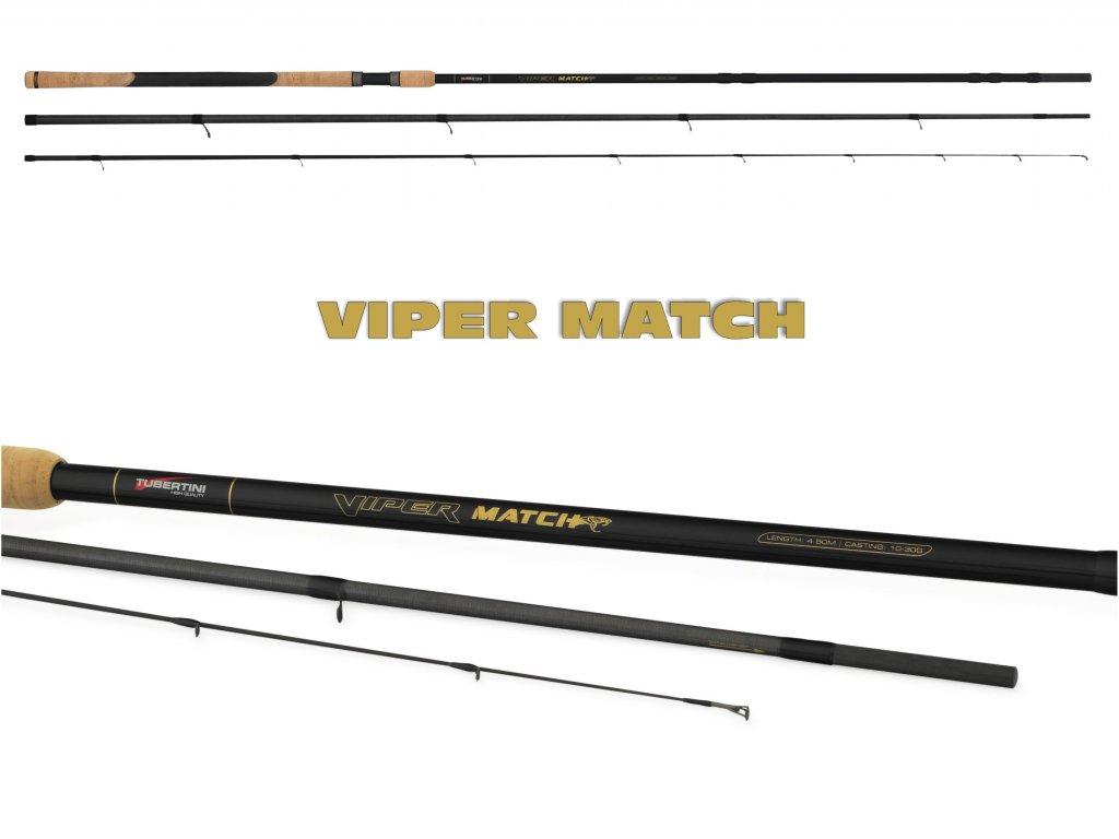 Tubertini - Matchový Prut Viper Match 4,2m Medium