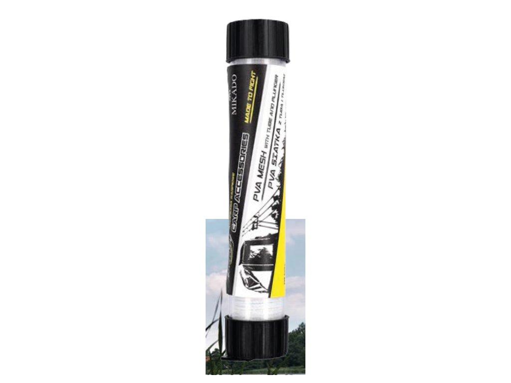 PVA SÍŤ (MESH) 23 mm / 5 m na TUBĚ (1mm oko sítě )+ Pěchovač - Rychle rozpustná (FAST MELT = 30-40 sec.)