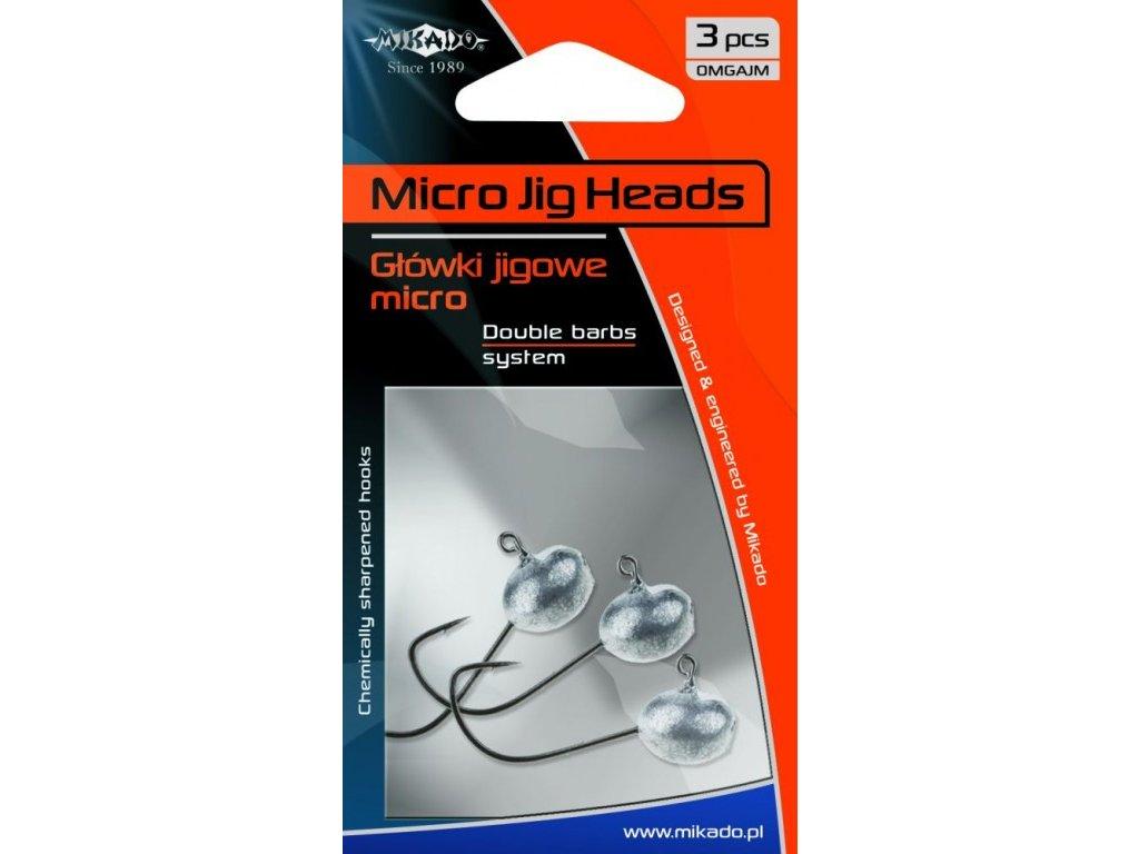 Mikado - Jigové hlavičky MIKRO BN 6g   - balení 3 ks