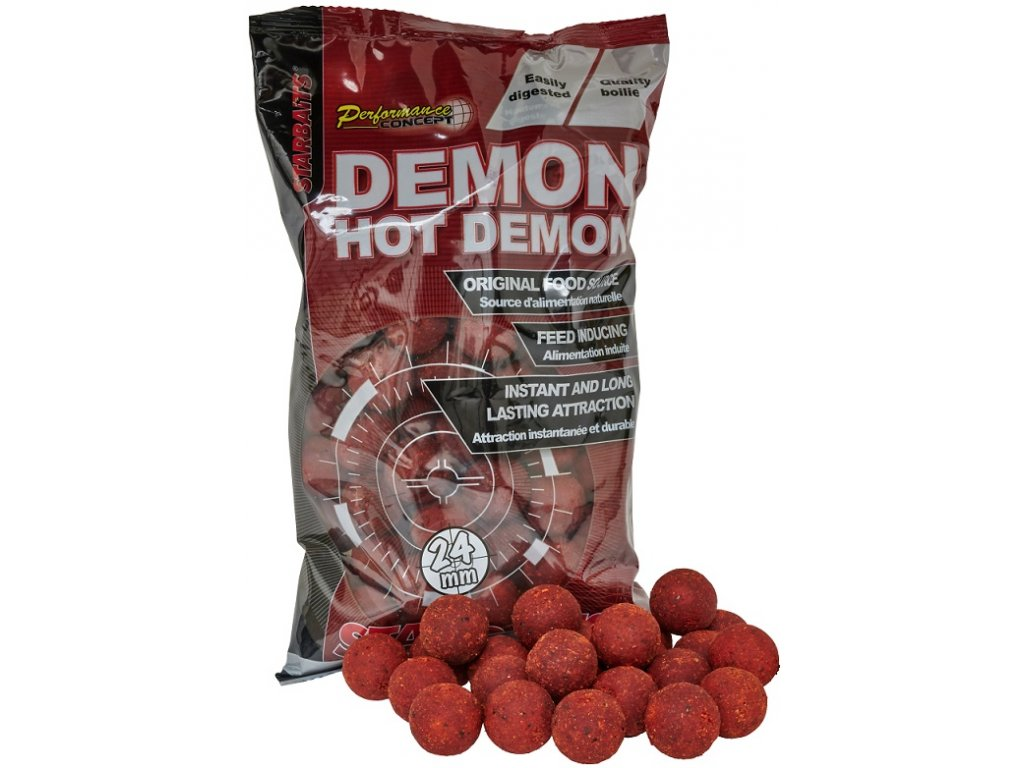 Starbaits - Hot Demon  Boilie potápivé