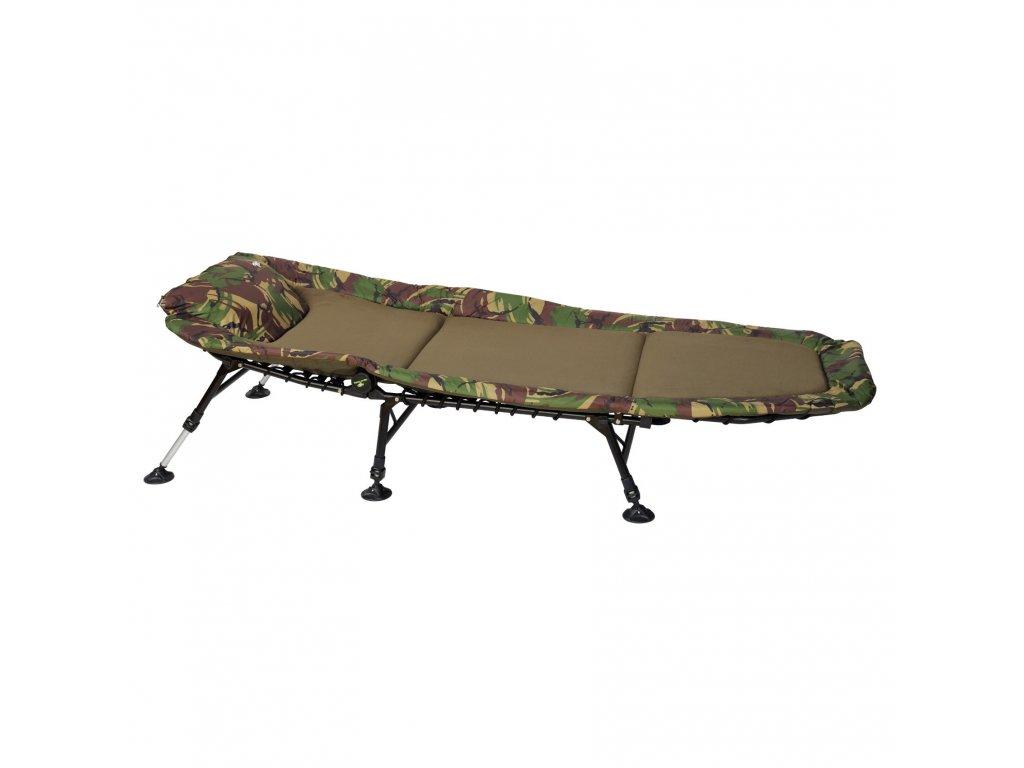 Giants Fishing - Lehátko Bedchair Fleece Camo 6Leg