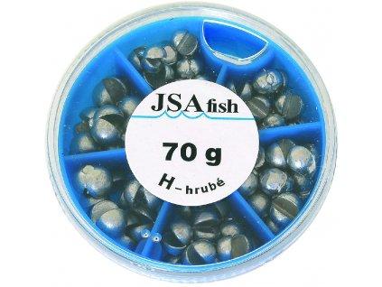 JSAfish - Sada broků hrubost: broky jemné