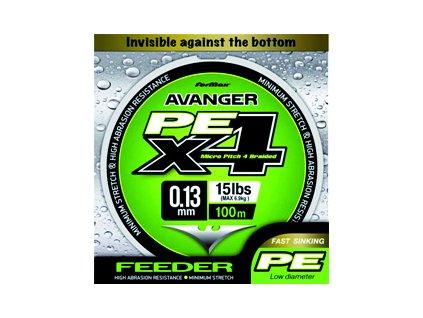 Formax - Pletená šňůra Avenger feeder