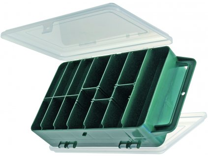 Carp System - Krabička oboustranná  260 x 160 x 70 mm.