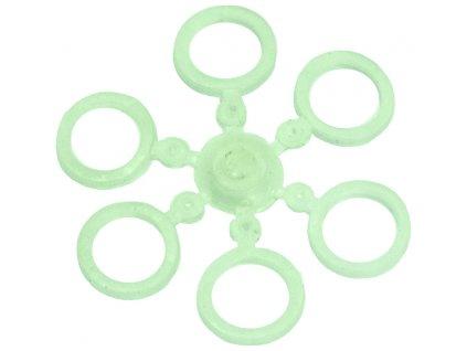 Carp System - Kroužky na pelety velikost pelety různé velikosti