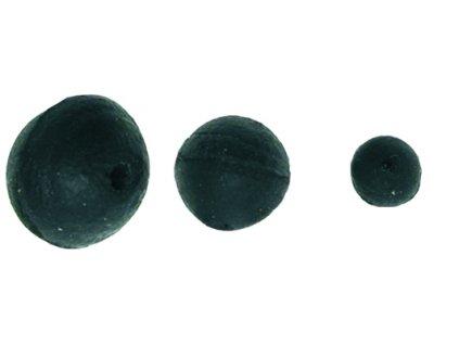 Carp System - Gumová kulička černá