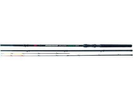 FM -  Feederový prut FEEDER MAGNUM BLACK prut délka: 3,6m, prut zátěž: 40-80g