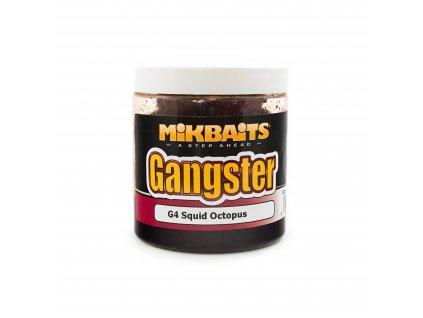 Mikbaits - Gangster boilie v dipu 250ml G4 Squid Octopus