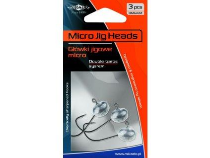 Mikado - Jigové hlavičky MIKRO BN 2g   - balení 3 ks