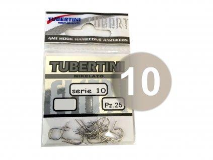 Tubertini - Háčky SERIE 10 NICHELATO 10 ks