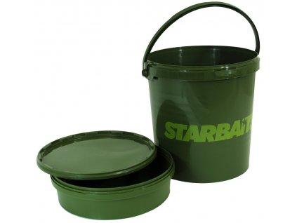 Starbaits - Kbelík set Bucket 21L (kbelík+vanička+víko)