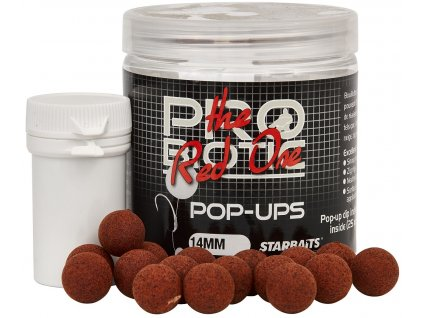 Starbaits - Probiotic Red One Boilie plovoucí 60g 14mm