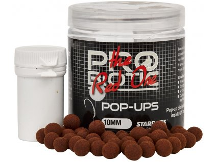 Starbaits - Probiotic  Red One Boilie plovoucí 80g 10mm