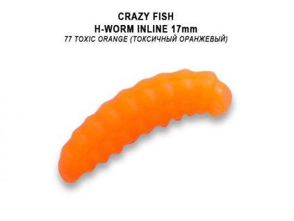 "Crazy Fish - MF H worm inline 0,7"" 1,7cm  kreveta"