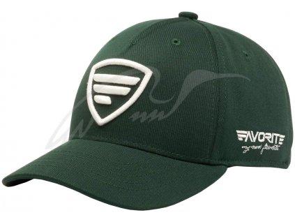 7303 cepice favorite white logo dark green