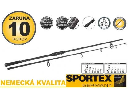 SPORTEX Competition Carp CS-4 2-díl 365cm/3,00lbs