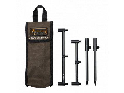 Prologic - Avenger Buzz Bar Kit - Sada Hrazd a vidliček s pouzdrem 20-34 cm  2 pruty