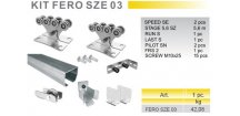 KIT FERO SZE 03 - sada pro posuvnou samonosnou bránu