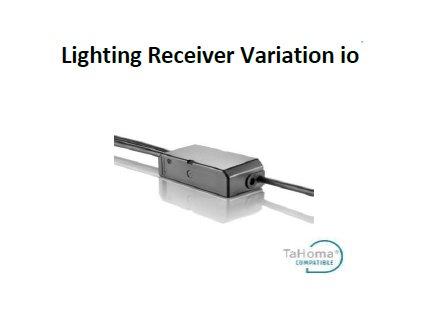 Obousměrný přijímač pro osvětlení Somfy Lighting Receiver io - verze Variation io
