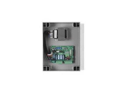 Řídící jednotka na 230 Vac pro 1 nebo 2 motory s integrovaným přijímačem na 433,9Mhz