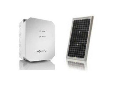 Solar kit for gate