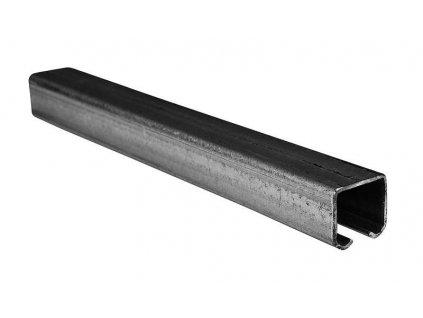 STRELA 57/2 - 2m Pozinkovaná šína pro pro posuvné zavěšené dveře, vrata a světlolamy