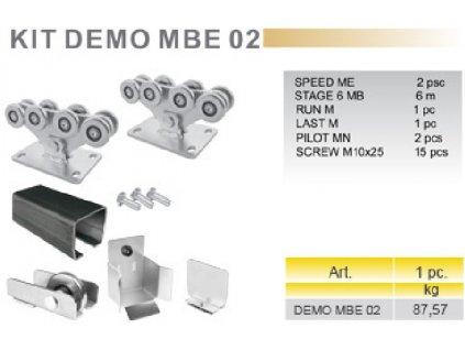 KIT DEMO MBE 02 - sada pro posuvnou samonosnou bránu M
