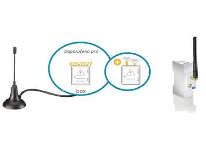 Externí anténa 2,4 GHz (WiFi/Zigbee)