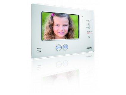 Monitor pro domovní videotelefon Somfy V200 Pro (bílý)