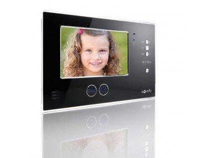 Monitor pro domovní videotelefon Somfy V200 Pro (černý)