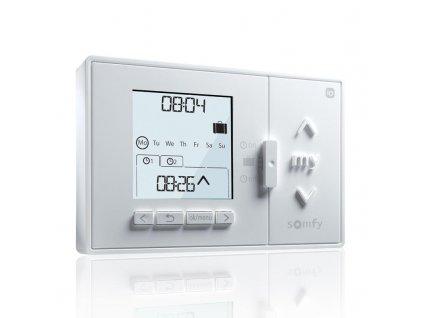 Nástěnný centrální dálkový ovladač s časovou automatikou Somfy Chronis io