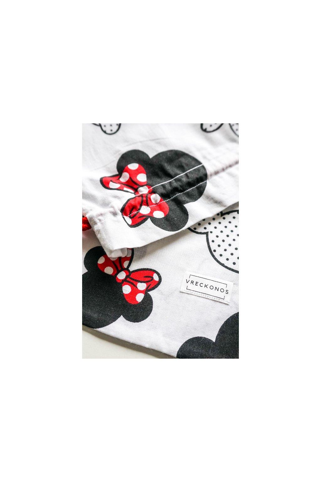 Mickey - látkové bavlnené vrecko na ovocie, zeleninu, pečivo, kozmetiku či papučky - Vreckonos