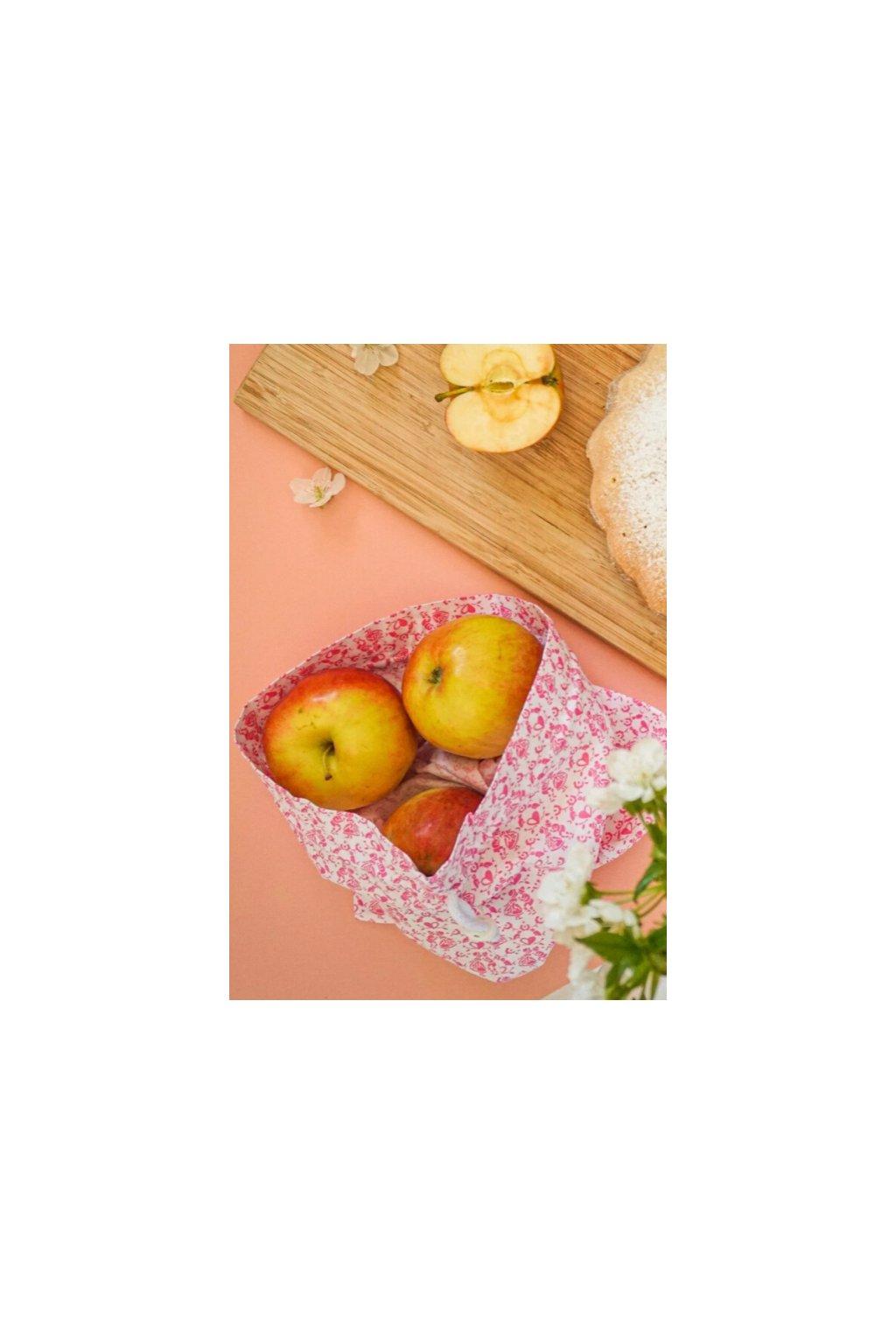 bavlnené látkové na ovocie, zeleninu a pečivo Vreckonos