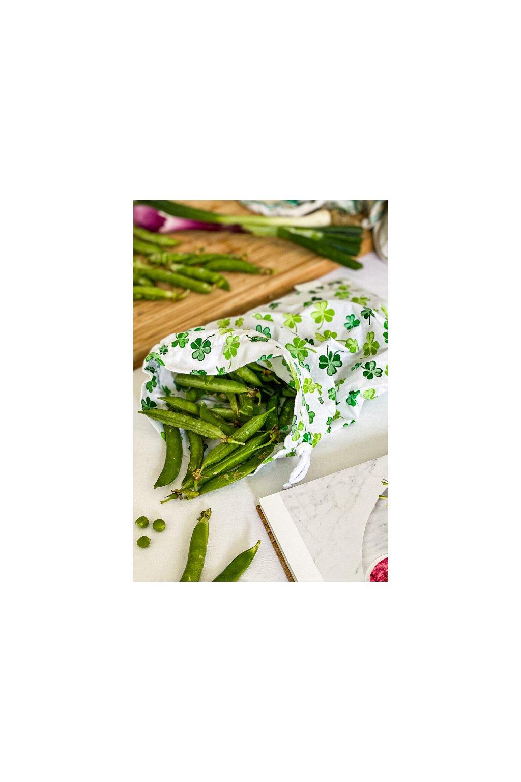vrecko na ovocie, zeleninu a pečivo pre zerowaste nakupovanie bez obalu - Vreckonos