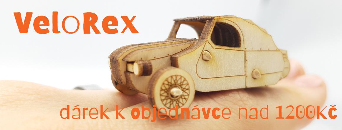 Velorex - dárek zdarma