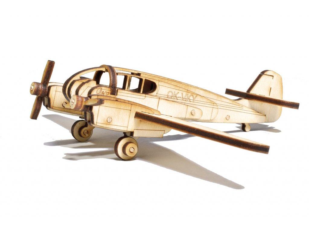 NIK 0595 model letadla aero ae 45