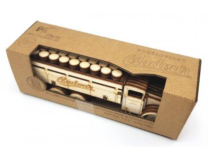 260 4 tatra t111 budvar sestaveny model v krabicce