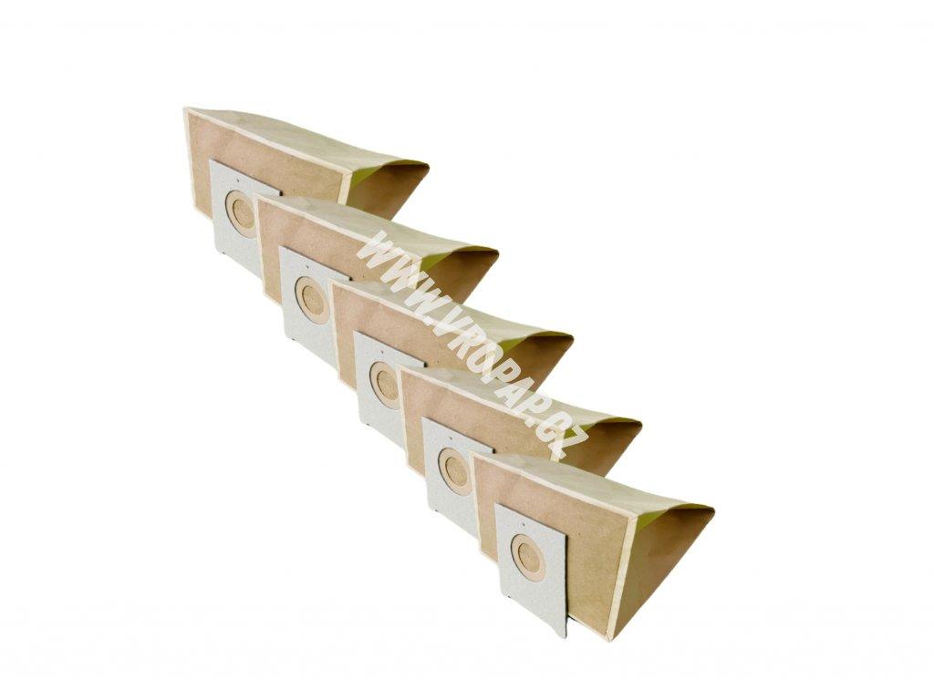 SIEMENS BSG 1400 - papírový sáček do vysavače (B002)