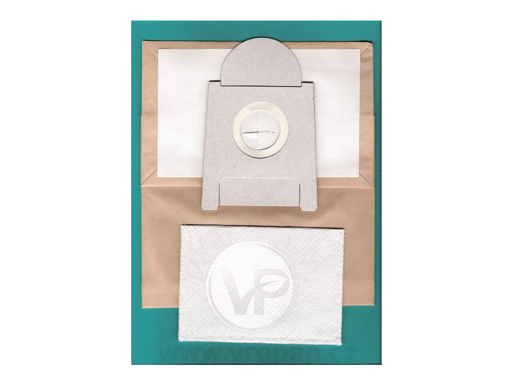 SIEMENS VZ52AFG1 - papírový sáček do vysavače (B002)