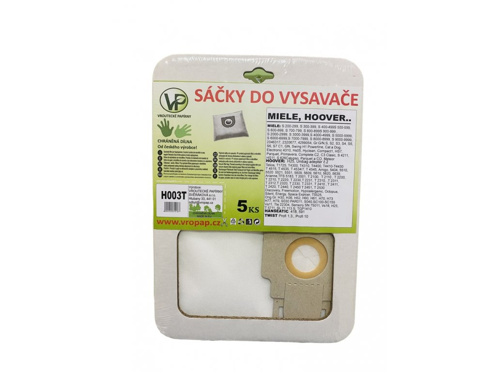 Miele S3 - textilní sáček do vysavače (H003T)