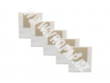 tvar původního kartonu obkreslete a nůžkami vystříhněte. - textilní sáček do vysavače (X001T)
