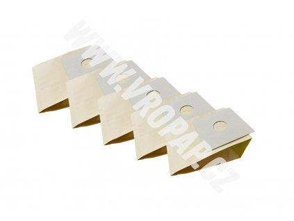 tvar původního kartonu obkreslete a nůžkami vystříhněte. - papírový sáček do vysavače (X002)